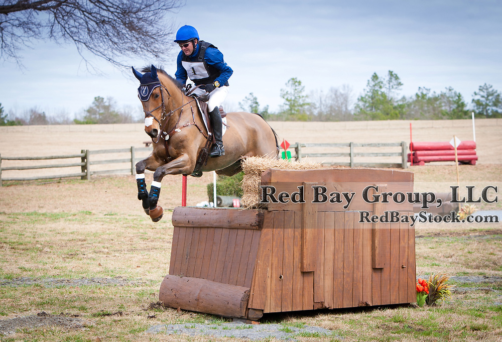 Phillip Dutton and Atlas at the 2014 Pine Top Farm Advanced Horse Trials in Thomson, Georgia.