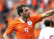 29-05-2008: Voetbal: Nederland-Denemarken: Eindhoven <br /> Ruud van Nistelrooy heeft Nederland op 1-0 gebracht<br /> Foto: Geert van Erven
