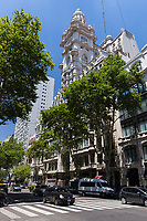 EXTERIORES DE PALACIO BAROLO, BARRIO DE MONSERRAT, CIUDAD AUTONOMA DE BUENOS AIRES, ARGENTINA (PHOTO BY © MARCO GUOLI - ALL RIGHTS RESERVED. CONTACT THE AUTHOR FOR IMAGE REPRODUCTION)