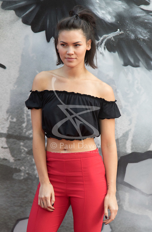 London, May 10th 2017. Sinead Harnett attends the European premiere of King Arthur - Legend of the Sword at the Cineworld Empire in Leicester Square.