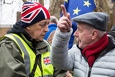 2019-01-29 Amendment day pro- and anti-Brexit protests