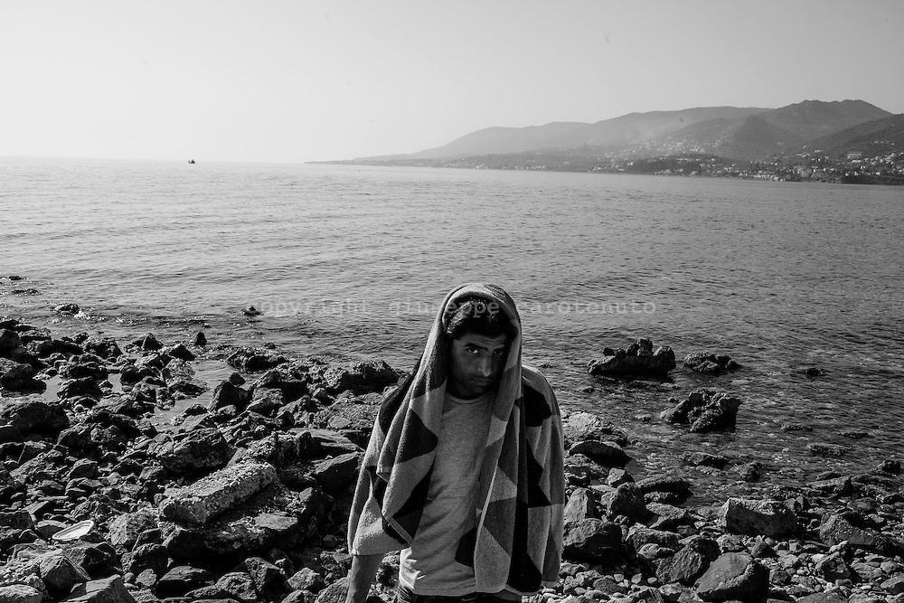 06 April 2016, Lesvos, Greece -