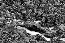 Small river at Eyjafjardarheidi, Iceland - Litlir lækir og fossar á Eyjafjarðarheiði