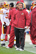 Washington Redskins head coach Mike Shanahan during the first half of the Jags game against the Jacksonville Jaguars at EverBank Field on Dec. 26, 2010 in Jacksonville, Fl. ©2010 Scott A. Miller