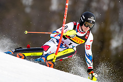 17.02.2019, Aare, SWE, FIS Weltmeisterschaften Ski Alpin, Slalom, Herren, 1. Lauf, im Bild Clement Noel (FRA) // Clement Noel of France in action during his 1st run of men's Slalom of FIS Ski World Championships 2019. Aare, Sweden on 2019/02/17. EXPA Pictures © 2019, PhotoCredit: EXPA/ Johann Groder