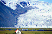 Hvitarnes, Langjokull, glacier, Iceland