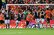 Blair Spittal scores United's first goal - Dundee United v Dundee at Tannadice<br /> - Ladbrokes Premiership<br /> <br />  - &copy; David Young - www.davidyoungphoto.co.uk - email: davidyoungphoto@gmail.com