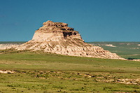 East Pawnee Butte in the Pawnee National Grasslands of Northern Colorado. This fantastic geological feature was only made more beautiful by the numbers of pronghorn antelope and desert wildflowers found dotted around the region.