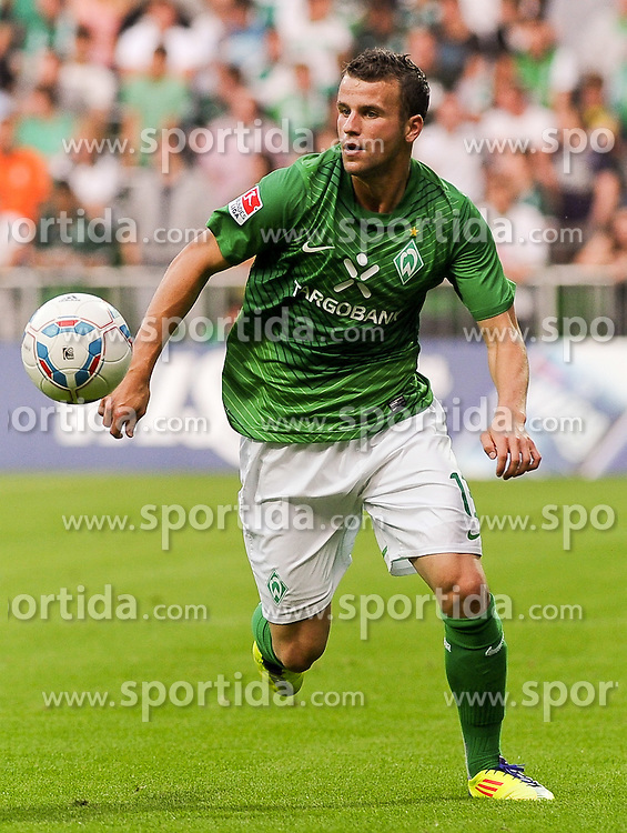 02.08.2011, Weserstadion, Bremen, GER, FSP, Werder Bremen vs FC Everton, im Bild Lukas Schmitz (Bremen #13)..// during the friendly match Werder Bremen vs FC Everton on 2011/08/02, Weserstadion, Bremen, Germany..EXPA Pictures © 2011, PhotoCredit: EXPA/ nph/  Frisch       ****** out of GER / CRO  / BEL ******