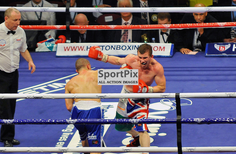 Gary Buckand v Stephen Foster Jr British Super Featherweight Title
