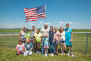 The Vectren Dayton Air Show is an annual event held at the Dayton International Airport in Vandalia, Ohio, eight miles north of Dayton, Ohio.