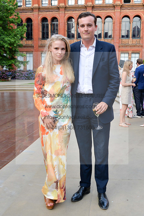 Freddie Coleridge, Chelmmie Nicholson at the V&A Summer Party 2017 held at the Victoria & Albert Museum, London England. 21 June 2017.