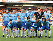 23-05-2008 VOETBAL:JONG ORANJE:JONG ZWITSERLAND:TILBURG<br /> Elftalfoto Jong Oranje, Zuiverloon, Amrabat, Pieters, Luijckx, Velthuizen, Donk<br /> Bruins, Beerens, Marcellis, De Guzman, Drenthe<br /> Foto: Geert van Erven