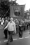 Darfield Main banner, 1983 Yorkshire Miner's Gala. Barnsley