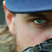 USC Beaufort baseball pitcher Jason Boulais, gazes towards the camera during a portrait during a press conference at Sand Shark Recreation Center, USCB Hilton Head Gateway campus, on March 30, 2015.  Jason Boulais, is scheduled to donate bone marrow for a young boy next month. The senior found out in mid-February he was a match and needed to give a blood sample for further testing. After doing so, Boulais learned he wasn't just a match — he was the boy's best match, his best chance at survival. Along with that news came the realization that going through with the process would mean Boulais would miss several games during conference play, and depending on his recovery time, he might not be able to pitch again before the end of the season — and his career.
