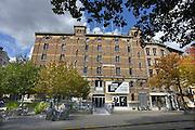Belgie, Antwerpen, 8-10-2012Stadsgezicht, straatbeeld van deze stad in Vlaanderen. Fotomuseum aan de Waalse kaai.Foto: Flip Franssen/Hollandse Hoogte