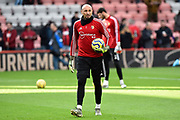 Heurelho Gomes (1) of Watford warming up ahead the Premier League match between Bournemouth and Watford at the Vitality Stadium, Bournemouth, England on 12 January 2020.