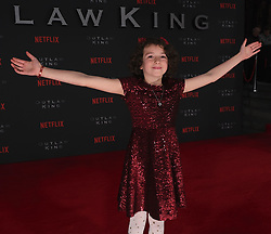 Outlaw King Premiere, Edinburgh, Friday 19th October 2018<br /> <br /> Outlaw King is a Netflix film and follows 14th century Scottish king Robert the Bruce prior to his coronation and through to his rebellion against the English, who at the time were occupying Scotland.<br /> <br /> Stars, crew and guests appear on the red carpet for the Scottish premiere.<br /> <br /> Pictured: Josie O'Brien<br /> <br /> Alex Todd | Edinburgh Elite media