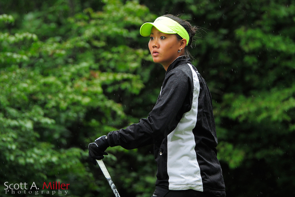 Jessy Tang during the Symetra Tour's Eagle Classic at the Richmond Country Club on August 19, 2012 in Richmond, Va...©2012 Scott A. Miller.