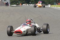 HSCC Gold Cup Oulton Park, Cheshire, United Kingdom.  28th-29th August 2011.  Race 4 HSCC Classic Racing Cars. Supported by Cubicle Centre Ltd. 1 Ian Gray - Brabham BT16. World Copyright: Peter Taylor/PSP. Copy of publication required for printed pictures. Every used picture is fee-liable.