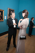 ANTHONY CRICHTON-STUART; KATHERINE ARA, Mark Weiss dinner, Nationaal Portrait Gallery. London. 15 October 2012.