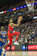 Washington Wizards Otto Porter (22) during the NBA London Game match between Washington Wizards and New York Knicks at the O2 Arena, London, United Kingdom on 17 January 2019.