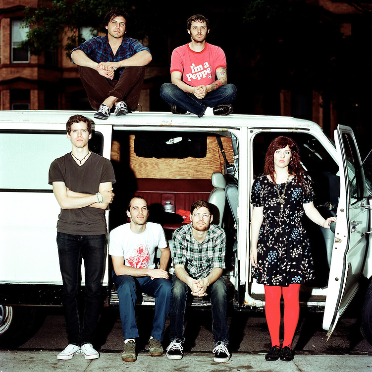 Ohio based band Bethesda photographed in Brooklyn, New York. June, 2011.
