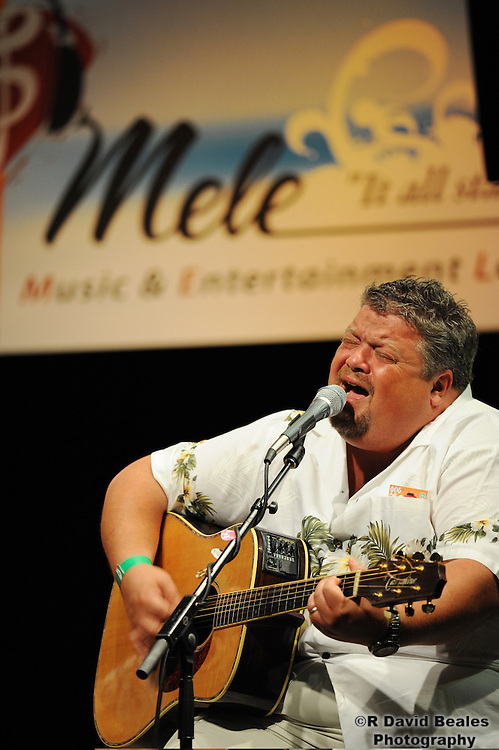 Songwriter Craig Wiseman performs as part of the Mele Workshop Kickoff Event at the Honolulu Community College.