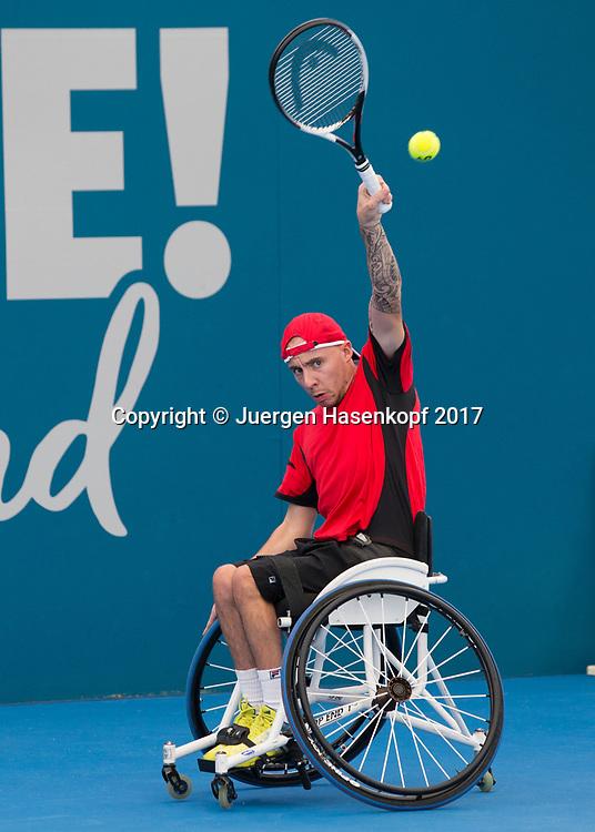 ANDY LAPTHORNE (GBR), Rollstuhl Tennis<br /> <br /> Tennis - Brisbane International  2017 - ITF -  Pat Rafter Arena - Brisbane - QLD - Australia  - 7 January 2017. <br /> &copy; Juergen Hasenkopf