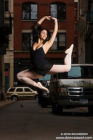 Cortlandt Alley Dance As Art Photography featuring dancer Nina Cabezas