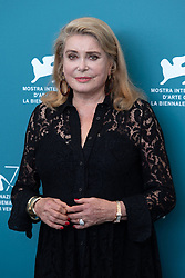 Catherine Deneuve attending The Truth (La Verite) Photocall as part of the 76th Venice Internatinal Film Festival (Mostra) on August 28, 2019. Photo by Aurore Marechal/ABACAPRESS.COM