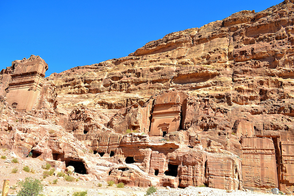Aneisho and Uneishu Tombs Tomb in Petra, Jordan <br />