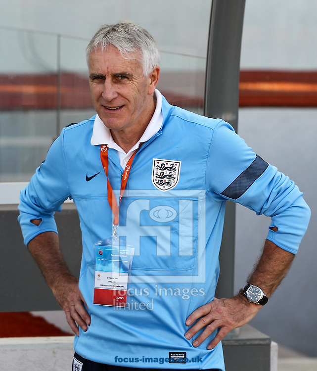 England U17 manager John Peacock before the 2014 UEFA European Under-17 match at Ta' Qali National Stadium, Attard<br /> Picture by Tom Smith/Focus Images Ltd 07545141164<br /> 09/05/2014