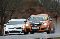 #65 Jason TINGLE VW Golf Mk5 during Maximumgroup.net VAG Trophy Qualifying as part of the Easter Family Fun Day - Oulton Park Fosters at Oulton Park, Little Budworth, Cheshire, United Kingdom. March 28 2016. World Copyright Peter Taylor/PSP. Copy of publication required for printed pictures.  Every used picture is fee-liable. http://archive.petertaylor-photographic.co.uk