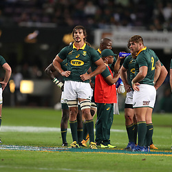 Eben Etzebeth of South Africa during the 2nd Castle Lager Incoming Series Test match between South Africa and France at Growthpoint Kings Park on June 17, 2017 in Durban, South Africa. (Photo by Steve Haag Sports)