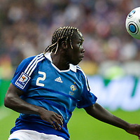 05 September 2009: French defender Bacary Sagna is seen during the World Cup 2010 qualifying football match France vs. Romania (1-1), on September 5, 2009 at the Stade de France stadium in Saint-Denis, near Paris, France.