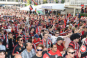 21.04.2013 Sydney, Australia. Fans before the Hyundai A League grand final game between Western Sydney Wanderers FC and Central Coast Mariners FC from the Allianz Stadium.Central Coast Mariners won 2-0.