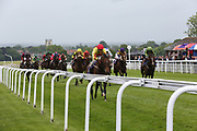 BROTHER MCGONAGALL (4) ridden by David Allan and trained by Tim Easterby winning The Biffa Handicap Stakes over 1m (£9,900) during a Very British Raceday at Beverley Racecourse, Beverley, United Kingdom on 8 June 2019.