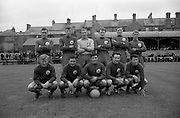 21/08/1966<br /> 08/21/1966<br /> 21 August 1966<br /> St. Patrick's Athletic v Waterford at Richmond Park, Dublin. The Waterford team.
