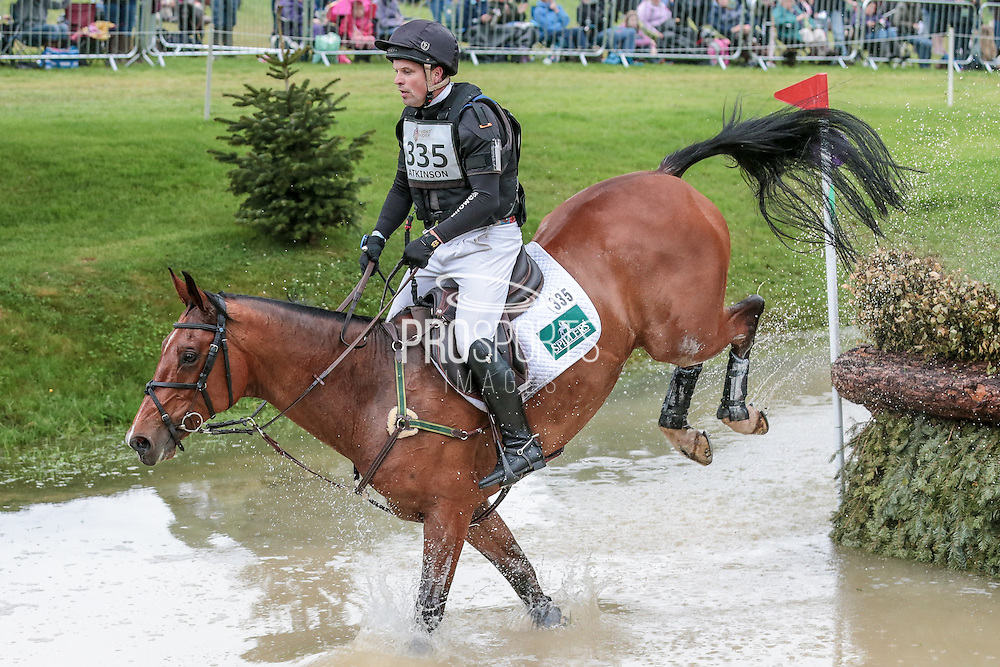 CELTIC FORTUNE ridden by sJamie Atkinson at Bramham International Horse Trials 2016 at  at Bramham Park, Bramham, United Kingdom on 11 June 2016. Photo by Mark P Doherty.