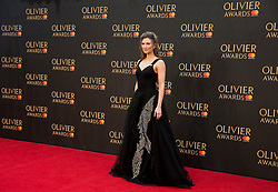 Summer Strallen arriving for The Olivier Awards at the Royal Albert Hall in London.