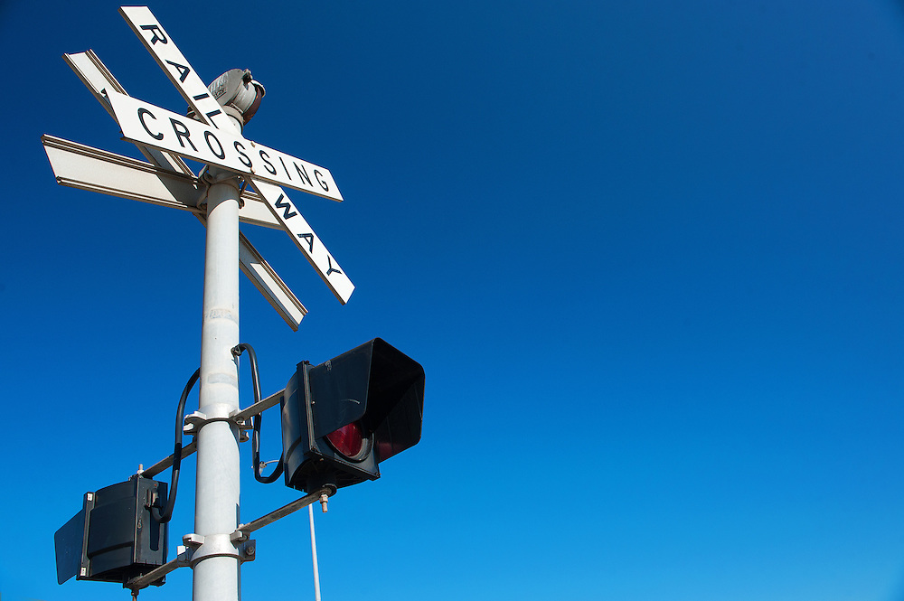 Railway Crossing Signage