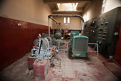 Engine room at Scotty's Castle, Death Valley National Park, California, United States of America
