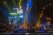 Zappa Plays Zappa <br /> Riviera Maya Jazz Festival 2015<br /> <br /> Dweezil Zappa Lead Guitar Vocals,<br /> Scheila Gonzales Saxophone, Flute, Keyboards and Vocals,<br /> Kurt Morgan Bass and Vocals, <br /> Chris Norton Keyboards and Vocals,<br /> Joe Travers Drums and Vocals, <br /> Ben Thomas Lead Vocals, Trumpet and Trombone.