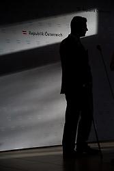 11.01.2019, Hotel Schlosspark, Mauerbach, AUT, Bundesregierung, Doorstep anlässlich der Regierungsklausur 2019, im Bild Bundesminister für Verkehr, Innovation und Technologie Norbert Hofer (FPÖ) // Austrian Minister for Transport, Innovation and Technology Norbert Hofer during convention of the Austrian government at Mauerbach in Lower Austria, Austria on 2019/01/11 EXPA Pictures © 2019, PhotoCredit: EXPA/ Michael Gruber