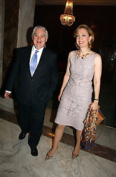 LORD LAMONT and COLLEEN GRAPHY at a party to celebrate the publication of 'A History of The English Speaking Peoples Since 1900' hosted by Andrew Roberts and Susan Gilchrist at the English-Speaking Union, 37 Charles Street, London W1 on 11th September 2006.<br /><br />NON EXCLUSIVE - WORLD RIGHTS