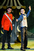 Gilbert &amp; Sullivan's The Sorcerer performed by Festival Youth Production in Harrogate Theatre, Harrogate, North Yorkshire, England on Saturday 18 August 2018 Photo: Jane Stokes<br /> <br /> Director - Sarah Helsby-Hughes<br /> Musical Director - Oliver Longstaff<br /> Wardrobe - Vivian Hamilton<br /> Stage Manager - Oliver Embourne