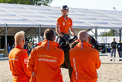 Van Silfhout Diederik, (NED),  Arlando TN N.O.P.<br /> Alltech FEI World Equestrian Games™ 2014 - Normandy, France.<br /> © Hippo Foto Team - Leanjo de Koster<br /> 25/06/14