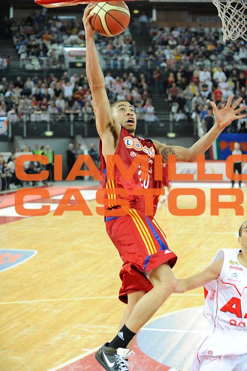 DESCRIZIONE : Roma Lega A 2008-09 Lottomatica Virtus Roma Armani Jeans Milano<br /> GIOCATORE : Ibrahim Jaaber<br /> SQUADRA : Lottomatica Virtus Roma<br /> EVENTO : Campionato Lega A 2008-2009 <br /> GARA : Lottomatica Virtus Roma Armani Jeans Milano<br /> DATA : 26/04/2009<br /> CATEGORIA : Tiro<br /> SPORT : Pallacanestro <br /> AUTORE : Agenzia Ciamillo-Castoria/G.Ciamillo