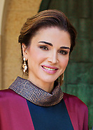 Jordanian Royals At Independence Day Ceremony